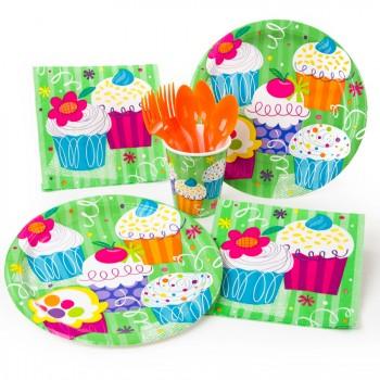 Grande boîte à fête Cupcake