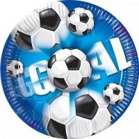 Thème anniversaire Goal Bleu pour l'anniversaire de votre enfant