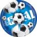 Maxi boîte à fête Goal Bleu. n°1