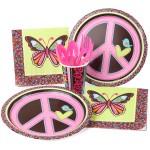 Thème anniversaire Peace and love pour l'anniversaire de votre enfant