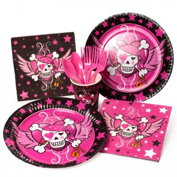 Boîte invité supplémentaire Pirate girl