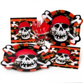 Boîte invité supplémentaire Pirate tête de mort