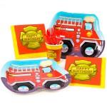 Thème anniversaire Pompier pour l'anniversaire de votre enfant