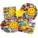 Grande boîte à fête Smiley world. n°1