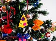 Création de guirlandes lumineuses de Noël